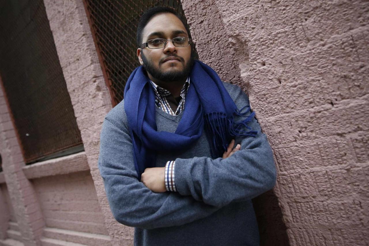 Naz Seenauth, a transgender man, poses in New York October 22, 2014. REUTERS/Shannon Stapleton