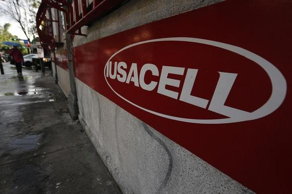 d6417894485 The logo of mobile phone company Iusacell is seen outside a store in Mexico  City September