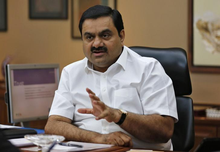 Billionaire Gautam Adani speaks during an interview with Reuters at his office in Ahmedabad April 2, 2014. REUTERS/Amit Dave/Files