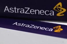 AstraZeneca fait état de progrès dans l'élaboration d'une gamme de nouveaux médicaments, une annonce destinée à montrer que le numéro deux britannique de la pharmacie peut rester indépendant après avoir rejeté en mai une offre de 118 milliards de dollars de l'américain Pfizer. /Photo d'archives/REUTERS/Stefan Wermuth