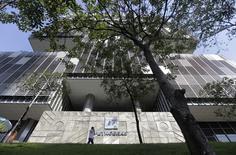 Sede da estatal Petrobras no centro do Rio de Janeiro, em abril. 11/04/2014 REUTERS/Ricardo Moraes