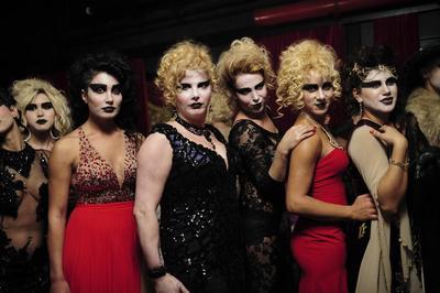 Transgender fashion show
