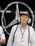 Ex-piloto de F1 Niki Lauda, atual presidente da equipe Mercedes, em foto de arquivo. 20/09/2014 REUTERS/Tim Chong