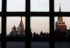 L'économie russe devrait croître de 0,7% à 0,8% cette année mais la prévision de 1,2% de 2015 pourrait devoir être revue, estime le ministre de l'Economie, Alexeï Oulioukaïev. /Photo prise le 18 septembre 2014/REUTERS/Maxim Zmeyev