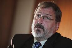 Secretário do Tesouro Nacional, Arno Augustin, em entrevista com a Reuters. 12/9/2014  REUTERS/Ueslei Marcelino