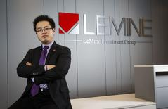 Thomas Liu, head of LeMine Investment Group, poses for a portrait in Toronto, November 26, 2014.   REUTERS/Mark Blinch