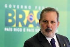 Ministro indicado para asumir Desenvolvimento, Indústria e Comércio Exterior,  Armando Monteiro, no Palácio do Planalto, em Brasília. 1/12/2014 REUTERS/Ueslei Marcelino