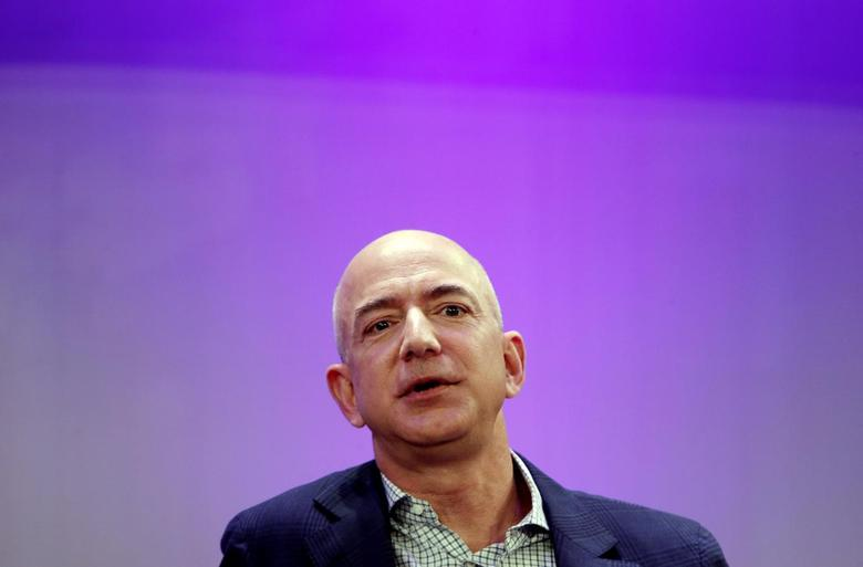 Amazon President, Chairman and CEO Jeff Bezos speaks at the Business Insider's ''Ignition Future of Digital'' conference in New York City December 2, 2014. REUTERS/Mike Segar