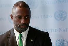 Ator britânico Idris Elba, em foto de arquivo na sede da ONU em Nova York. 25/09/2014 REUTERS/Shannon Stapleton
