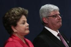 Presidente Dilma Rousseff durante cerimônia de posse do procurador-geral da República, Rodrigo Janot, em Brasília. 17/09/2013. REUTERS/Ueslei Marcelino