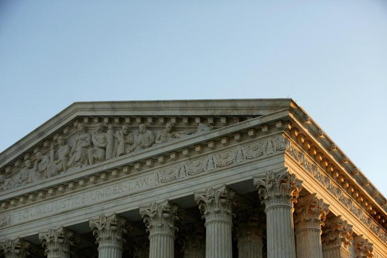 The U.S. Supreme Court building is seen in Washington in this October 5, 2014 file photo.  REUTERS/Jonathan Ernst/Files