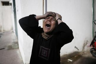 Pictures of the year: Gaza