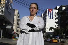 A artista cubana Tania Bruguera posa para foto em Havana, Cuba, em dezembro. 31/12/2014 REUTERS/Enrique De La Osa