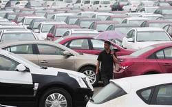 General Motors et ses coentreprises chinoises ont vendu un nombre record de 3.539.970 véhicules en Chine en 2014, un total qui représente une hausse de 12% par rapport à l'année précédente. /Photo d'archives/REUTERS