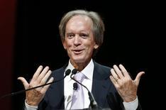 El inversor Bill Gross durante una conferencia en Chicago. Imagen de archivo, 19 junio, 2014. Gross recomendó el martes cautela a los inversionistas en el nuevo año, sugiriendo que el 2015 no será un año de enormes ganancias. REUTERS/Jim Young