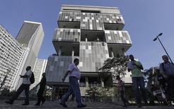 Sede da Petrobras no Rio de Janeiro. REUTERS/Ricardo Moraes (BRAZIL - Tags: ENERGY CRIME LAW POLITICS BUSINESS)