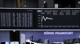 Bolsa de Frankfurt. REUTERS/Remote/Pawel Kopczynski   (GERMANY - Tags: BUSINESS)