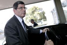 Ministro da Fazenda, Joaquim Levy, chega ao ministério em 13 de janeiro de 2015. REUTERS/Ueslei Marcelino (BRAZIL - Tags: POLITICS BUSINESS)