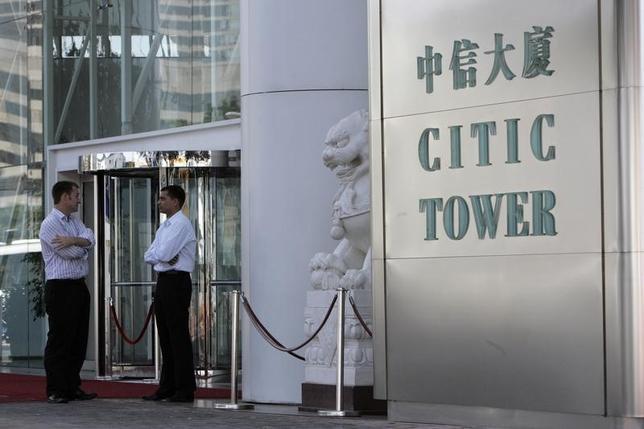 1月20日、中国国有の複合企業、 中国中信グループは、伊藤忠商事およびタイ財閥のチャロン・ポカパングループとの戦略的提携を発表した。香港の中信グループビルで2008年10月撮影(2015年 ロイター)