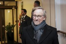 Cineasta Steven Spielberg chega para um evento dos sobreviventes do Holocausto, em Cracóvia, na Polônica, nesta segunda-feira. 26/01/2015 REUTERS/Lukasz Krajewski/Agencja Gazeta