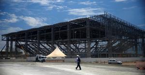 Instalação em construção no Parque Olímpico dos Jogos Olímpicos Rio 2016. 19/12/2014 REUTERS/Pilar Olivares