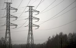 Линии электропередачи в финском городе Эспоо. 12 декабря 2013 года. Крупнейшая энергокомпания Финляндии Fortum сообщила в среду о превысившей прогнозы квартальной прибыли и рекомендовала выплату дополнительных дивидендов, объяснив хорошие результаты недавней продажей ряда активов, сокращением расходов и высокой выработкой на своих ГЭС. REUTERS/Vesa Moilanen/Lehtikuva