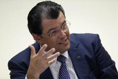 Ministro de Minas e Energia, Eduardo Braga, em entrevista com à Reuters. 21/1/2015 REUTERS/Ueslei Marcelino