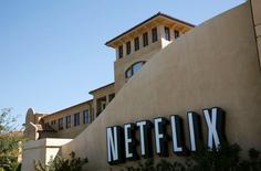 La sede de  Netflix en Los Gatos, EEUU, sep 20 2011. Netflix Inc lanzará su servicio de reproducción de películas y series por internet en Japón en el otoño boreal del 2015, dijo el miércoles una fuente con conocimiento de la situación.    REUTERS/Robert Galbraith