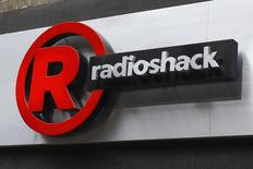 A sign for a RadioShack store is seen in the Brighton Beach section of New York, in this file photo taken March 4, 2014. REUTERS/Shannon Stapleton/Files