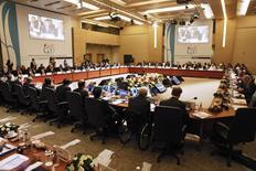 Encontro entre os Ministros das Finanças do G20 e chefes dos bancos centrais, em Instambul. 10/02/2015 REUTERS/Osman Orsal