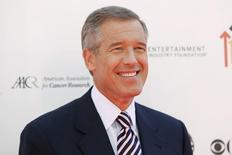 "NBC news anchor Brian Williams poses at the ""Stand Up To Cancer"" television event, aimed at raising funds to accelerate innovative cancer research, at the Sony Studios Lot in Culver City, California September 10, 2010. REUTERS/Danny Moloshok"