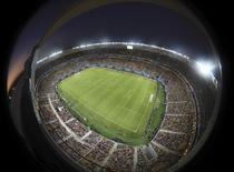Vista geral da Arena da Amazônia para jogo entre Itália e Inglaterra, em Manaus, na Copa do Mundo de 2014.   REUTERS/Francois Marit