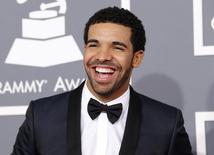 Rapper Drake durante evento do Grammy em Los Angeles. 10/02/2013  REUTERS/Mario Anzuoni