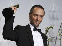 """Cinegrafista Emmanuel Lubezki ganha Oscar por """"Gravidade"""", em Hollywood, no ano passado. 02/03/2014 REUTERS/Mario Anzuoni"""