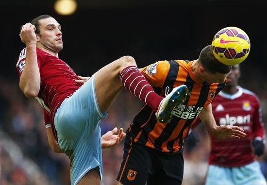 サッカー=ウェストハムのキャロル、ひざじん帯断裂で今季絶望