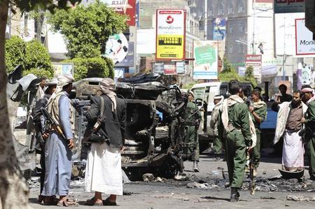 عالمي: اليمن| قتيلا اشتباكات الحوثيين الشيعة والسنة ?m=02&d=20150214