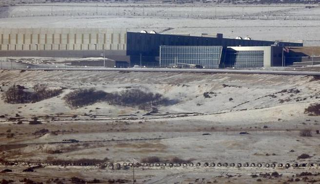 A National Security Agency (NSA) data gathering facility is seen in Bluffdale, about 25 miles (40 kms) south of Salt Lake City, Utah, December 17, 2013. REUTERS-Jim Urquhart