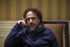 "Mexican film director Alejandro Gonzalez Inarritu poses for a portrait while promoting his upcoming movie ""Birdman"" in Los Angeles, California in this  December 16, 2014 file picture.  REUTERS/Mario Anzuoni/Files"