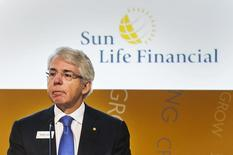 Sun Life Financial Chief Executive Dean Connor attends the company's annual general meeting for shareholders in Toronto May 7, 2014.   REUTERS/Mark Blinch