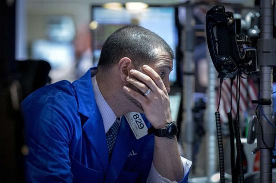 米国株反落、過去最高値圏から後退