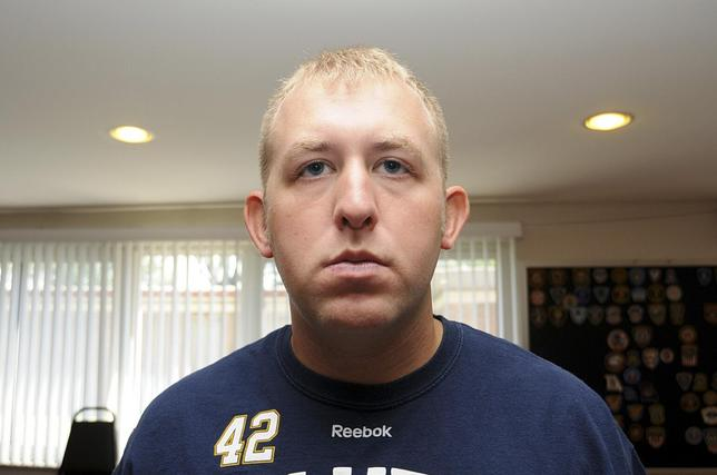 Ferguson Officer Darren Wilson is pictured in this undated evidence photo.  REUTERS/St. Louis County Prosecutor's Office