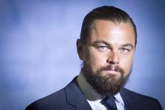 Ator Leonardo DiCaprio durante cerimônia da ONU. 20/09/2014.    REUTERS/Carlo Allegri
