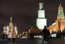 Vista da Praça Vermelha, em Moscou.  23/12/2014     REUTERS/Sergei Karpukhin