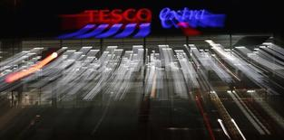 A Tesco superstore in Altrincham, northern England February 5, 2015.  REUTERS/Phil Noble