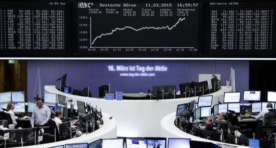 欧州株に資金流入の見込み、ECBの債券買入れで