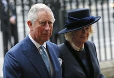 Príncipe Charles e Camilla em Londres. REUTERS/Stefan Wermuth
