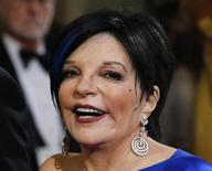 Singer Liza Minnelli arrives at the 86th Academy Awards in Hollywood, California March 2, 2014. REUTERS/Adrees Latif