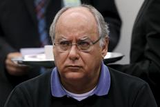Ex-diretor da Petrobras Renato Duque na CPI. 19/3/2015 REUTERS/Ueslei Marcelino