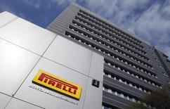Sede da Pirelli, em Milão.  18/03/2014  REUTERS/Alessandro Garofalo