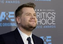 "Actor James Corden, from the film ""Into the Woods,"" arrives at the 20th Annual Critics' Choice Movie Awards in Los Angeles, California January 15, 2015.    REUTERS/Kevork Djansezian"